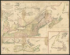 A Map of Cabotia : comprehending the provinces of Upper and Lower Canada, New-Brunswick, and Nova-Scotia, with Breton Island, Newfoundland, , and including also the adjacent parts of the United States · Purdy, John, 1773-1843 · 1814 · Albert and Shirley Small Special Collections Libr... Fleet Street, United States Map, Canadian History, University Of Virginia, New Brunswick, The Province, Newfoundland, Nova Scotia, Virgo