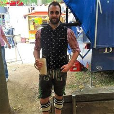 Lederhosen, Hot Men, Hot Guys, Overalls, Germany, Suits, Leather, Clothes, Fashion