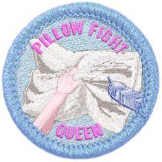 Pillow Fight Queen Merit Badge