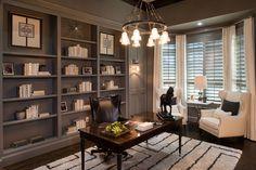Sanders Custom | Lakes of Las Colinas | Home Office | Las Colinas, TX | Plan 4626A