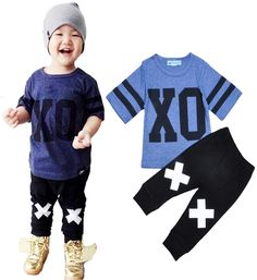 Find More Clothing Sets Information about 2016 New Summer Style Baby Girl Clothes Set Cartoon Letter XO Print T Shirt+Harem Pants 2pcs Suit Fashion Boy Kids Leisure Set,High Quality shirt sweater,China shirt cartoon Suppliers, Cheap shirt joker from Kids1688 on Aliexpress.com