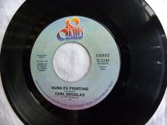 kung fu fighting / gamblin' man 45 rpm single