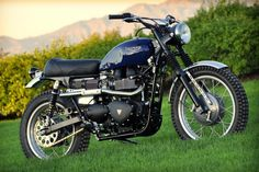 Triumph Scrambler customized by Mule Motorcycles
