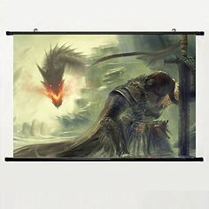Popular And Unqiue Designed Home Decor Art Game Poster With Elder Scrolls Skyrim(8) Wall Scroll Poster Fabric Painting 24 X 16 Inch (60cm X 40 cm)  Standard size print, ready for framing  Browse thousands of images available, click Lantern Press, above  High quality,Perfect gift for Anime fans or decorate your wall and make your room unique.  Perfect for your home, office, or a gift  Measuring size:23.6 X 35.4 Inch (Equal:60 X 90 cm).