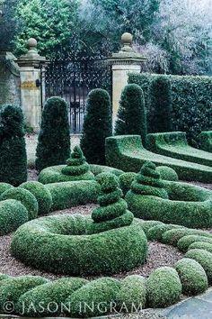 Bourton House Garden, Bourton-on-the-Hill, Moreton-in-Marsh, Gloucestershire, England