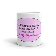 Hearts Desire's Mug - PURPLE