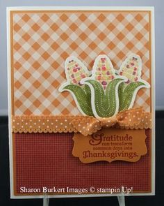 Stampin' Up! Fall Perfectly Preserved  by Sharon Burkert at As The Ink Dries