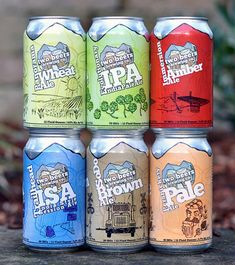 {kudos Two Beers!I have a six pack of the ISA in my fridge now, yum} Two Beers Brewing Company