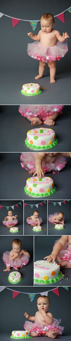 1st birthday cake photoshoot. Need to remember his bunting.