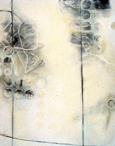 Chiyomo Tanieke Longo, white passage #5:  charcoal/acrylic/oil on panel