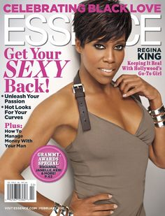 Regina King graces the February 2011 issue of ESSENCE.