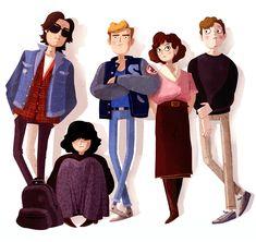The Breakfast Club - James Lancett | Animation & Illustration