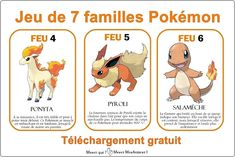 Pokemon Party, Pokemon Games, Play Based Learning, Learn French, Business For Kids, Baby Cards, Teaching Kids, Animation, Activities