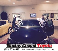 https://flic.kr/p/GGKGCE | Happy Anniversary to Rifat on your #Toyota #Avalon from Steve Blank at Wesley Chapel Toyota! | deliverymaxx.com/DealerReviews.aspx?DealerCode=NHPF