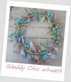 Shabby Chic DIY Wreath Tutorial