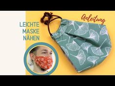 Leichte Maske nähen: Anleitung mit Gratis Schnittmuster - YouTube Sunglasses Case, Lunch Box, Blog, Youtube, Crowns, Tutorials, Protective Mask, Sewing Clothes, Bento Box