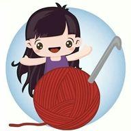 Copertine a uncinetto con schemi e spiegazioni   I gomitoli di Camilla Knitting Humor, Crochet Humor, Crochet Art, Crochet Stitches, Craft Quotes, Yarn Bombing, Cool Stickers, Knitted Bags, Baby Shower Gifts