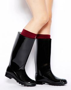 Browse online for the newest ASOS GRANSTA Wellies styles. Shop easier with ASOS' multiple payments and return options (Ts&Cs apply). Slip On Boots, Pull On Boots, Flat Boots, Shoe Boots, Shoes Heels, Black Magic Woman, Wellies Boots, Leather Jeans, Zapatos
