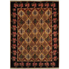 Persian Hand-knotted Signed Bakhtiari Area Rug