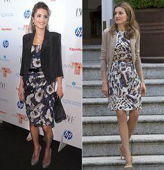 Royal Double Takes  Queen Rania of Jordan & Crown Princess Letizia of Spain