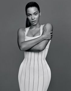 Beyoncé from her photo shoot in 'The GentleWoman S/S 2013' issue.