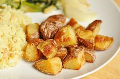 Side Dish Recipe: Extra-Crispy Tossed Potatoes