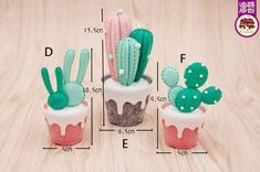 Felt succulent plant DIY kit The kit includes everything you need to make the plant. Photo instruction is included. **This item will be mailed out in business days** Please kindly read my shipping policy before purchase: Felt Succulents, Planting Succulents, Craft Kits, Diy Kits, Suculentas Diy, Felt Crafts, Diy Crafts, Washi, Cactus Craft