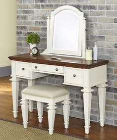 Look at this Americana Vanity Set on #zulily today!