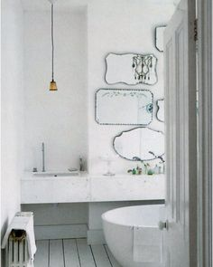 Vintage Bathroom Mirrors