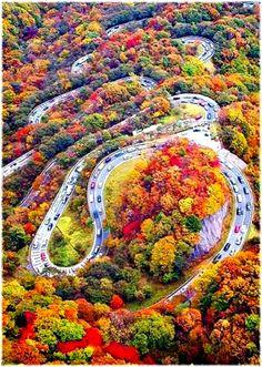 Chaloos road, Iran