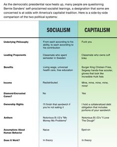 Socialism Vs. Capitalism GRAPHICAL FEATURE November 13, 2015 VOL 51 ISSUE 45    Politics The Onion - America's Finest News Source