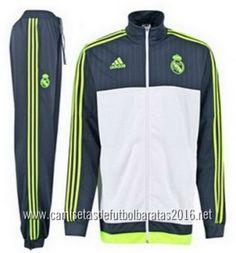 camisetas de fútbol baratas 2016 Adidas chaqueta Real Madrid  €35.99