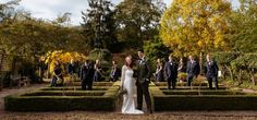 Secluded Autumn Splendour seasonally themed weddings at Hodsock Priory