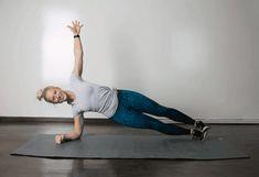 cviky na spodné brucho dvíhanie plank s otáčaním Lower Belly Fat, Lower Abs, Reduce Belly Fat, Lose Belly, Fitness Workouts, Lower Ab Workouts, Easy Workouts, Gym Fitness, Belly Fat Burner Workout