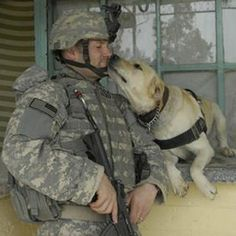 One of my friends is getting a PTSD dog in June. I'm hopeful it will help him out of the darkness!