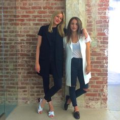 Twinning in the Bless'ed Are the Meek Angel Jacket Vest #twins #behindthescenes