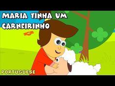 ▶ Maria tinha um carneirinho - canções para crianças (Mary had a Little Lamb) - YouTube