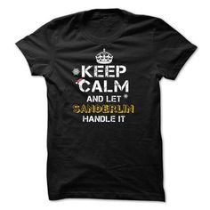 Keep calm and Let SANDERLIN Handle it TeeMaz - #cute shirt #poncho sweater. TAKE IT => https://www.sunfrog.com/Names/Keep-calm-and-Let-SANDERLIN-Handle-it-TeeMaz.html?68278