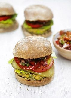 The ultimate veggie burger by Jamie Oliver #BeanBurger #Vegetarian