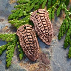 Handmade Copper Goddess Component 1 pair by KristiBowmanDesign, $15.00