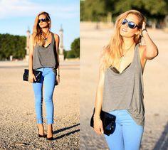 Adenorah - Blue pants (by Adenorah M) http://lookbook.nu/look/3914176-Adenorah-Blue-pants