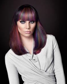 #summer #hair   Hair Color Trends 2014   Rainbow Pastels   BVD