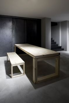 STRUCTURAL DESIGN:WHY:  The table looks like a normal table. Long, narrow, four legs, and a benches to sit on. Not used for elegance, just something used for a purpose. DEF: Focuses on more of the use rather than the elegance of the object.