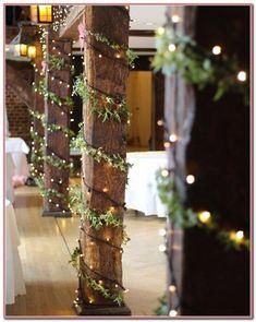 This barn wedding decor is so lovely! - This barn wedding decor is so lovely! – Wedding – – This barn - Winter Wedding Decorations, Reception Decorations, Wedding Themes, Wedding Colors, Christmas Lights Wedding, Fairy Lights Wedding, Winter Weddings, Winter Wedding Ideas Diy, Reception Ideas
