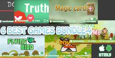 awesome Very best six Games Bundle-four HTML5 Mobile Games(capx) (Games)