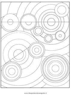circles S Delaunay Zentangle, Kandinsky Art, Art Worksheets, Ecole Art, Middle School Art, Art Club, Art Plastique, Elementary Art, Teaching Art