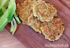 Mrkvové placky s hokkaido tekvicou Meatloaf, Salmon Burgers, Quiche, Cauliflower, Vegetables, Breakfast, Ethnic Recipes, Fitness, Hokkaido