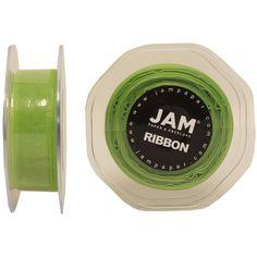 JAM Paper® Sheer Organza Ribbon - 7/8' Width (25 yards) - Apple Green - Sold Individually *** Read more  at the image link.