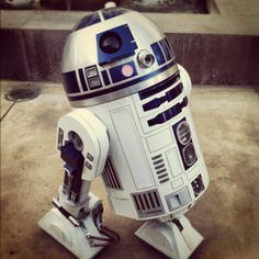 #8 R2D2. It's funny how such a little mail-box looking droid (robot) played such a huge part in the story of Star Wars.