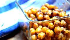 Sweet Roasted Chickpeas